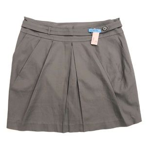 Club Monaco Gray Jupe Misty Skirt w/Pockets